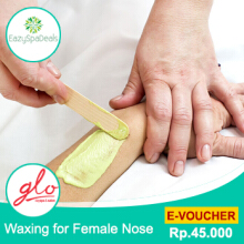 Glo Day Spa Sanur - Waxing for Female Nose 10 Menit.