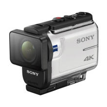 SONY FDR-X3000R 4K Action Cam with Wi-Fi & GPS + free microsd 8gb+travel case White