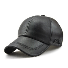 JAMONT Men's 2018 new imported European and American fashion leather baseball cap