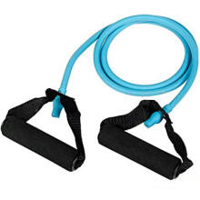 Farfi Home Gym Workout Yoga Training Exercise Elastic Resistance Band Tube as the pictures