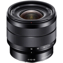 Sony Lens E 10-18mm F4 OSS