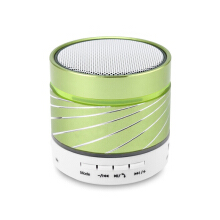 Keymao Wireless Bluetooth Mini Speaker with Hands-free Call TF Card Green