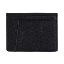 [LESHP]Business Men Money Wallets Portable Cash Purses Casual Standard Black