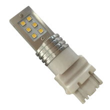 [COZIME] Practical Car Turn Signal Reverse Light 12LED 6W White Light Vehicle Bulb White