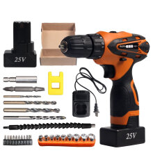 JDWonderfulHouse HILDA DC 25V Cordless Electric Impact Drill Lithium Battery Electric Drill Power Drills  #1