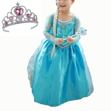 AD Cartoon Cosplay Dresses Baby Girls Kids Princess Party Costumes -