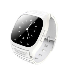 [kingstore] M26 Life Waterproof Smartwatch Bluetooth Smart Watch Music Player Pedometer White