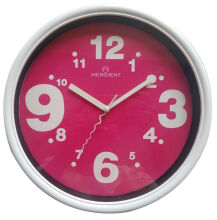 Meridient Wall Clock Assorted Pastel (24cm)