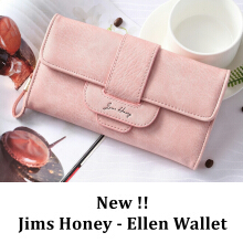 Jims Honey - Dompet Wanita Import - Ellen Wallet