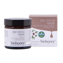 Biohoney Bee Venom and Manuka Honey Organic Face Mask Cream Made In New Zealand [50gr] Creme