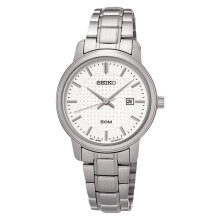 Seiko Classic SUR751P1 Silver Dial Date Display Stainless Steel Bracelet [SUR751P1]