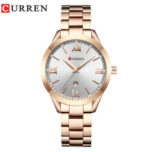 CURREN 9007 Women Quartz Watches Ladies Top Brand Luxury Female Wrist Watch