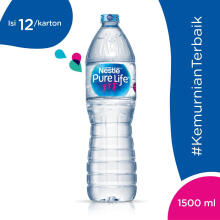 NESTLE Pure Life Mineral Water Carton 1500ml x 12pcs