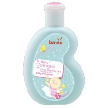 Bambi Baby Cologne 100ml - Milky Powdery