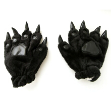 Anamode Cartoon Paw Winter Warm Gloves Lovely For Animal Pajamas Fingers -