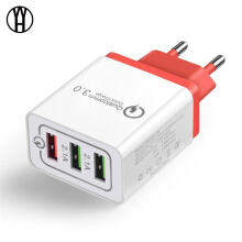WH USB Wall Charger Quick Charge 3.0 Fast Charger Fit QC2.0 USB Adapter 18W Portable travel Charger