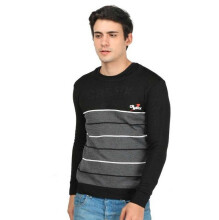 CBR SIX - SWEATER PRIA KASUAL - NNC 441 - HITAM SIZE- ALL