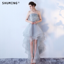 SHUMING- Dress Wedding dress Evening Dresses Grey S
