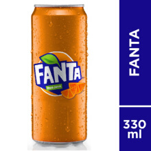 FANTA Orange Can Carton 330ml x 24pcs