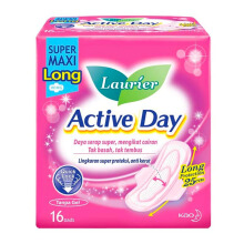 LAURIER Active Day Super Maxi Long Wing 16pcs