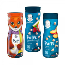 Gerber Puff Combo B (Banana, Strawberry Apple, Peach)