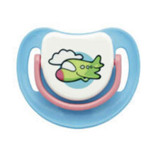PIGEON Silicone Pacifier Step 1B - Blue