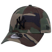 NEW ERA 11308500 MLB LEAGUE ESSENTIAL - New York Yankees Woodland Camo [9Forty/Strapback] Woodland Camo One Size