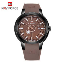 NAVIFORCE Luxury Brand Men Sport Watches Men's Casual Date Quartz Military Wristwatches
