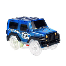 Jantens Magic electronic LED car toy flash racing car boy children