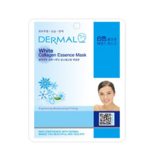 Dermal White Collagen Essence Mask 10pc