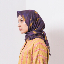 IKAT Indonesia Basimah Scarves Purple