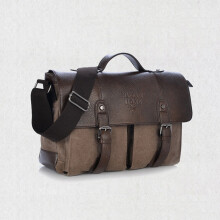 Jantens Vintage Crossbody Bag Military Canvas Briefcase Men Shoulder Bags Men Messenger Bag