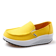Jantens Summer Patchwork Slip On Shoes Breathable Women  Casual Shoes