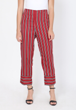 Shop at Banana Female Pants Red All Size