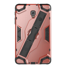 RockWolf Samsung Tab a 8.0(2017)/T385 case TPU back clip bracket anti-wrestling shield flat set