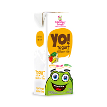 HEAVENLY BLUSH Yogurt Drink Kids Banana Beries Broccolli 200ml