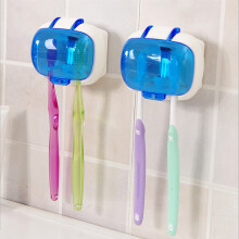 Toothbrush Sterilizer Wall Mounted UV Lamp Disinfection Storage Box Anti-bacteria Ultraviolet Tooth