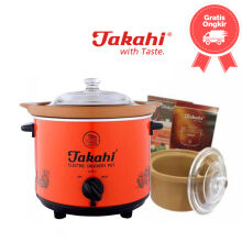 Takahi Slow Cooker Size 1.2 Color Red