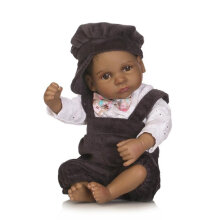[COZIME] 10 inch Full Body Soft Silicone Vinyl Realistic Toddler Newborn Baby Doll Toys Colorful