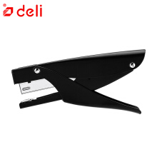 Deli Plier Stapler Stationery Office Gadgets Paper Booking Machine Stapler Metal Stapler