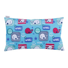 JOYLIVING Cushion Rectangular Whale 30X50cm - Navy