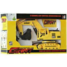 Remote Control Excavator Giant Enginerring Mainan Anak