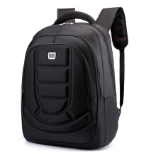 Wei's select fashion men's wear-resistant waterproof computer backpack hot trend computer backpack B-DSY8801hengtiaokuan Black