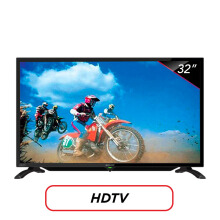 SHARP LED TV 32 Inch HD - LC-32LE185i Hitam
