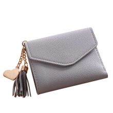 Farfi Women Simple Short Wallet