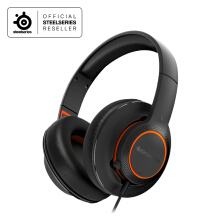 Steelseries Siberia 100 Black Gaming Headset Black