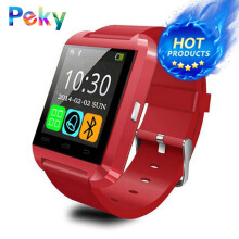 PEKY U8 Smart Watch Clock Sync Notifier Hombre Men Bluetooth Mujer Smartwatchs For Huawei Xiaomi Android Phone