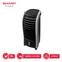SHARP Air Cooler PJ-A26MY-B - Hitam