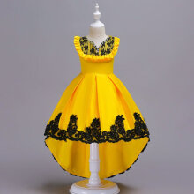 Girls Dress Wedding Party Princess Christmas Dresse for girl Party Costume 150CM