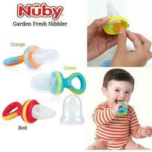 NUBY The Nibbler Mesh Fruit Food Feeder